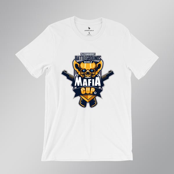 áo pubg mobile mafia cup - áo trắng