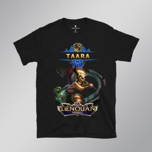 áo thun taara đại tù trưởng - áo đen