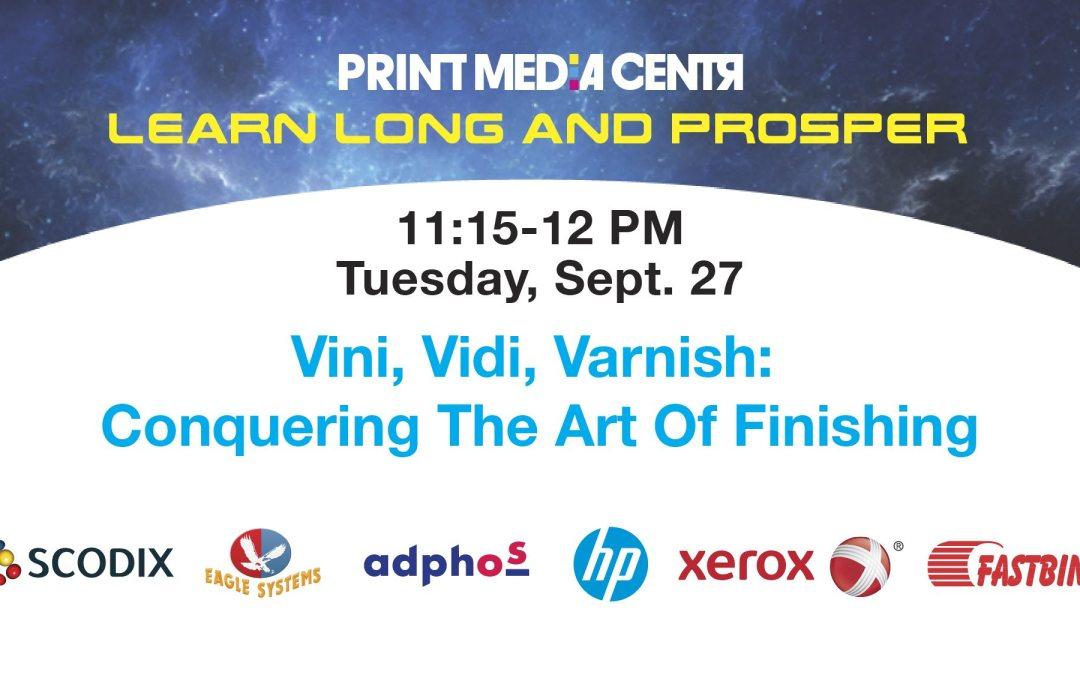 [VIDEO] Vini, Vidi, Varnish: Conquering The Art Of Finishing
