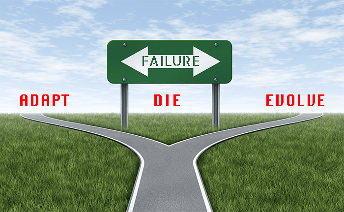 The Gifts of Sales Failure Make it Simple: Adapt, Evolve or Die