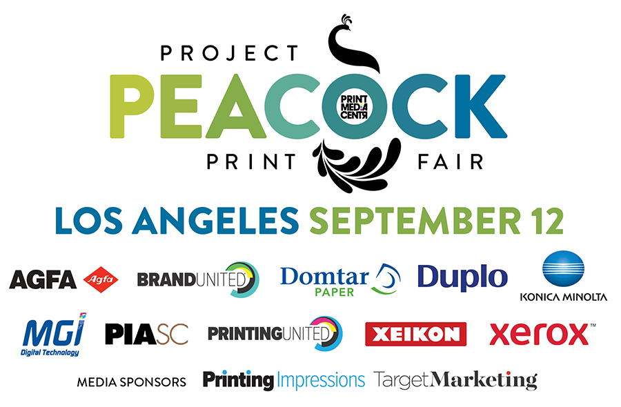 Heavenly Printspiration Awaits Brands and Agencies as Project Peacock Print Fair Heads to the City of Angels on September 12