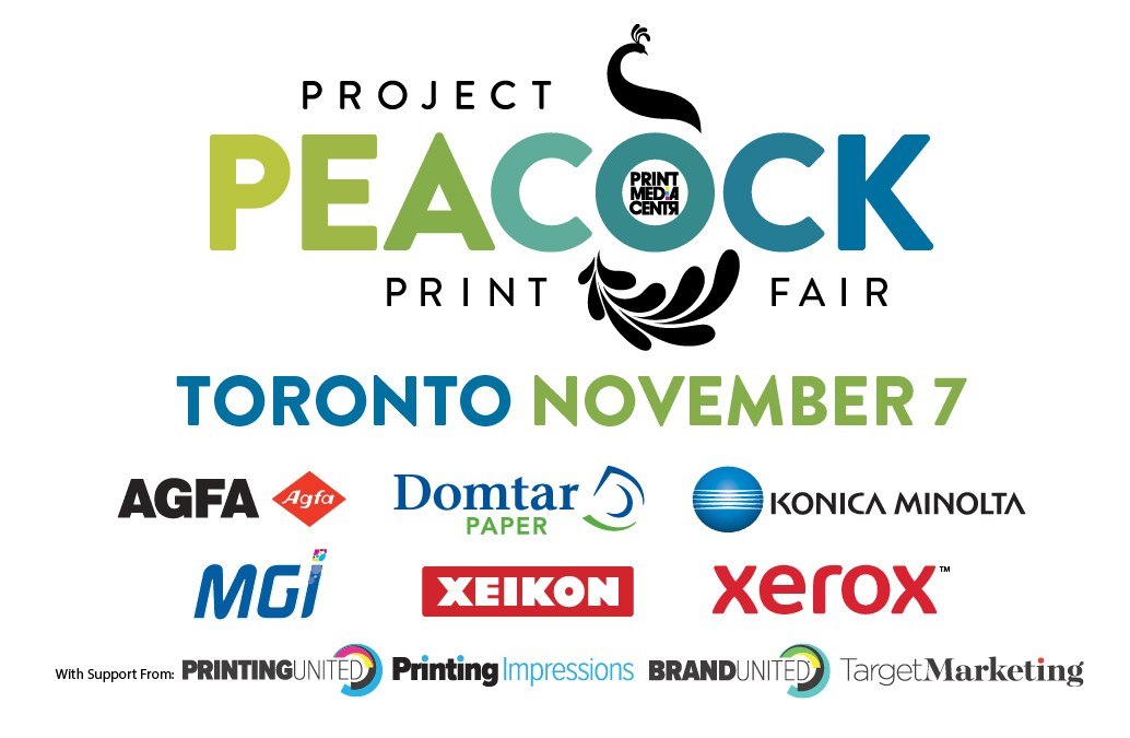 Project Peacock Print Fair to Conclude 2019 Tour in Toronto, Canada's Creative Capital