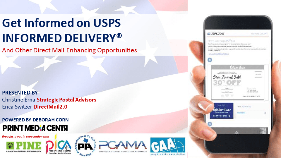 Get Informed on Informed Delivery and Other Direct Mail Enhancing Opportunities