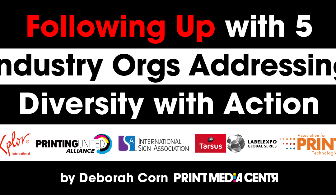 Following Up with Five Industry Orgs Addressing Diversity with Action