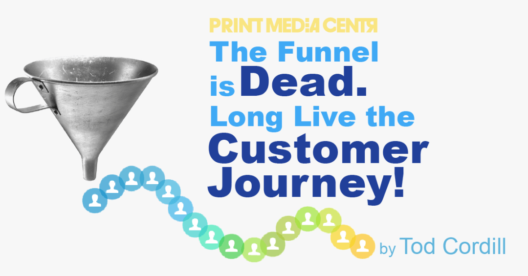 replacing the sales funnel for the customer journey