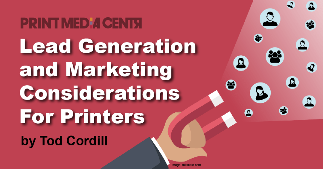 Lead Generation and Marketing for Printers-print media centr