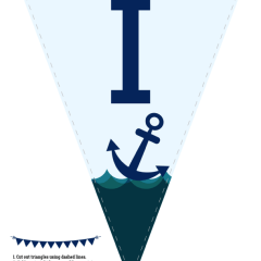 Nautical Baby Shower Prints and Ideas