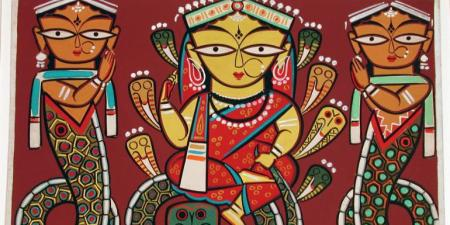 Jamini Roy Paintings of Maa Durga For Your Home