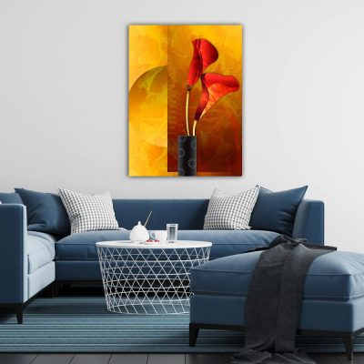 Floral Wall Art Painting