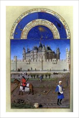 Les Tres Riches Heures Du Duc De Berry : riches, heures, berry, PrintOyster, Riches, Heures, Berry:, Octobre, (October), Johan, Limbourg