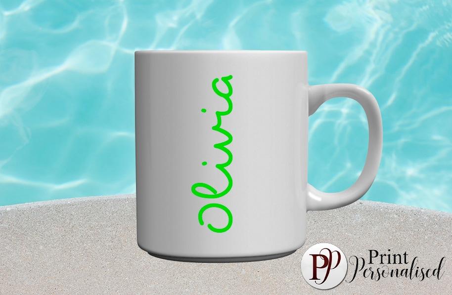 LOVEISLAND inspired-Green mug