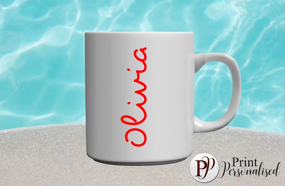 LOVEISLAND inspired-Red mug