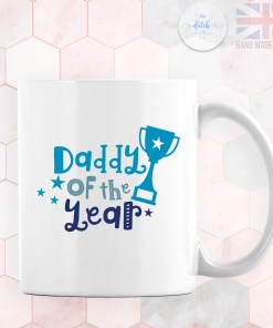 Personalised Photo Mug Daddy Of The Year - Add YOUR OWN IMAGE - Personalised Fathers Day Gifts - Gifts for Him
