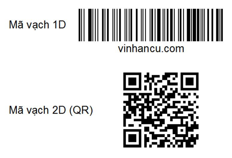 mã vạch 1d và 2d, mã vạch là barcodes
