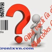 Mã vạch là barcodes - Mã vạch là gì? Barcode là gì?