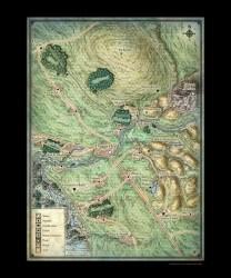 daggerford maps region rpg print map prints artist mikeschley dd realms forgotten cartography ruins dungeon artikkel fra zenfolio
