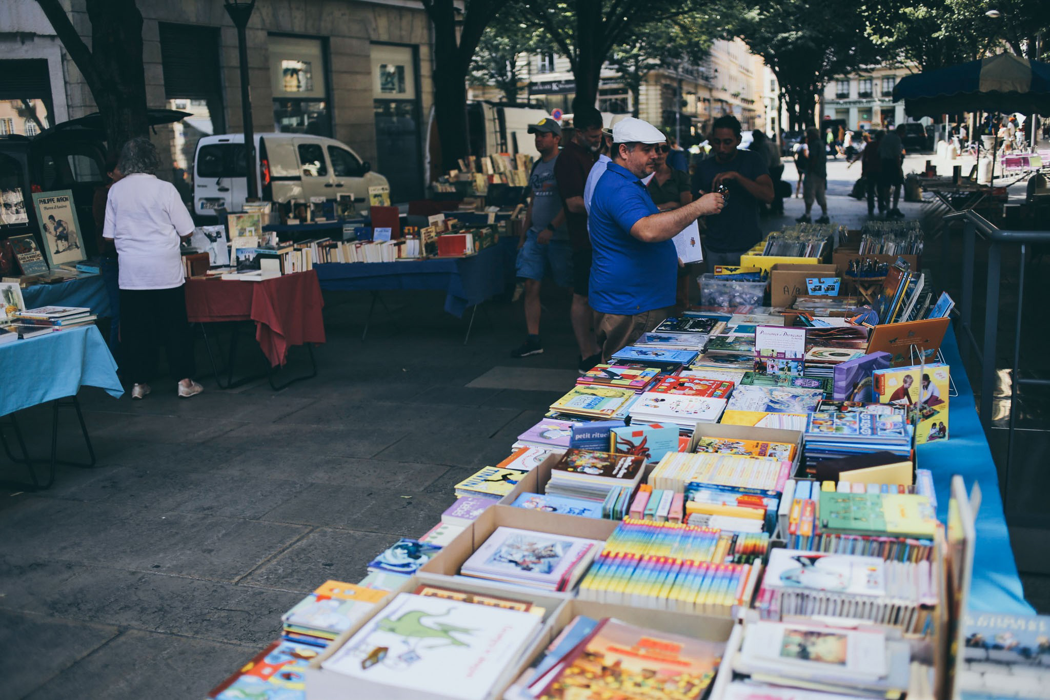 Old Book Market in Lyon