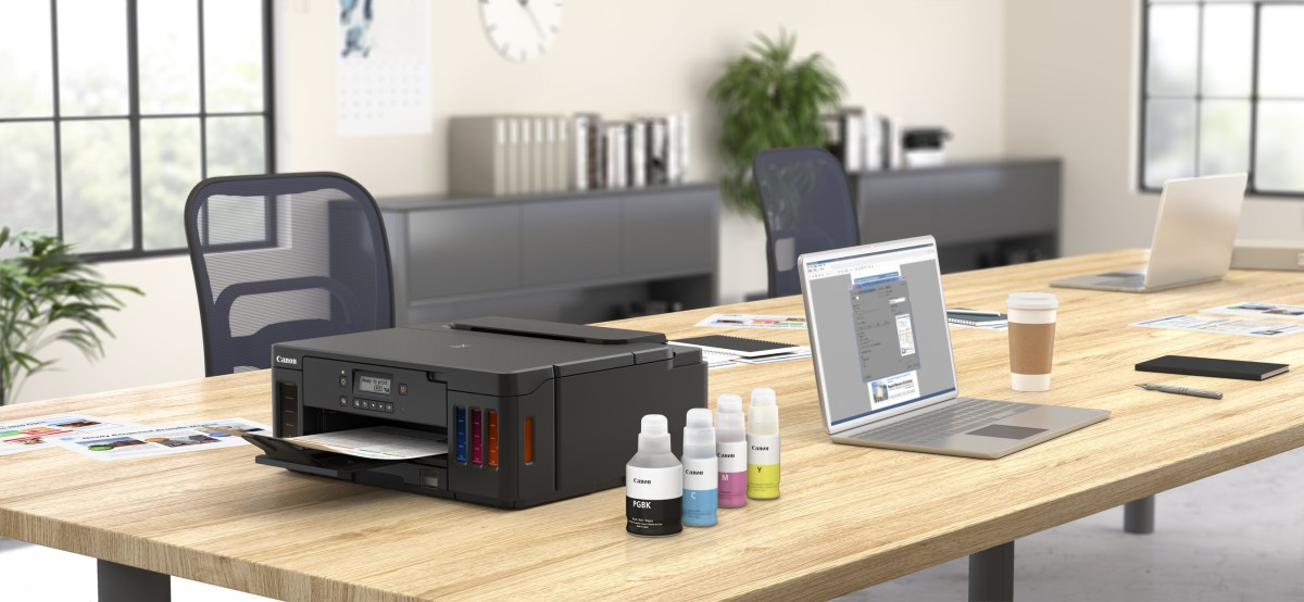 Canon PIXMA G5020 MegaTank Single-Function Printer with Continuous Ink Supply System