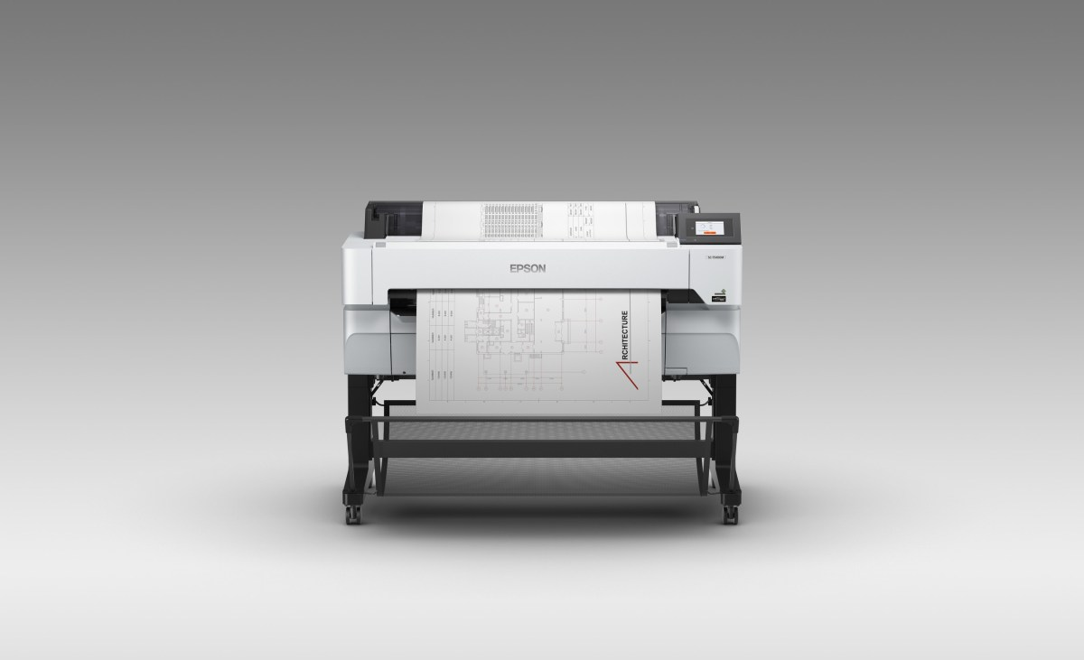 The new SureColor T5470M printer and integrated scanner offers a fast multifunction solution for printing, sharing and saving technical documents.