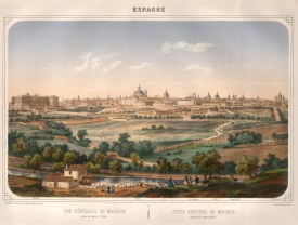 "Deroy: Madrid. c1840. An original colour antique lithograph. 20"" x 16"". [SPp916]"