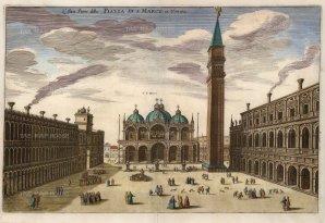 Piazza di San Marco. Looking towards the Basilica.