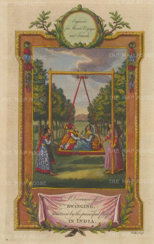 Jhoola (Swing): The popular diversion of swinging.