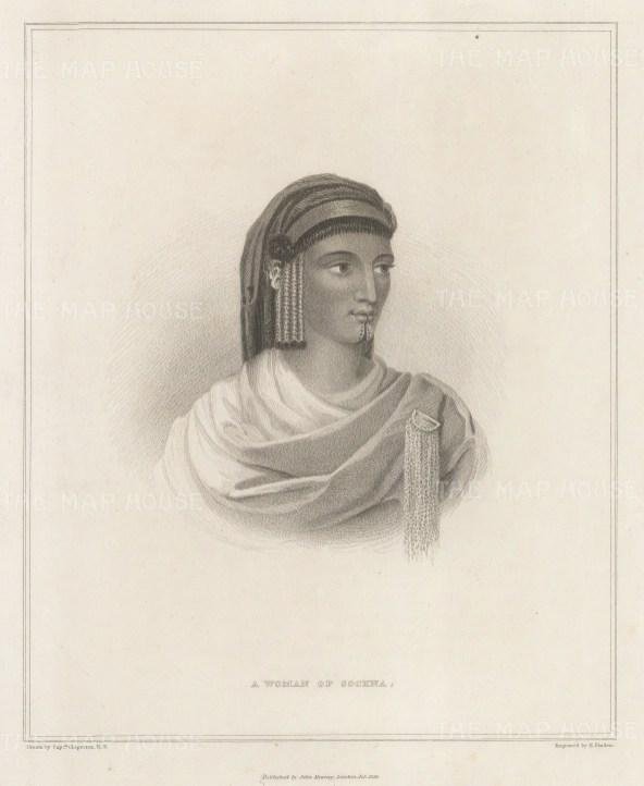 Libya: Lady of Sockna.