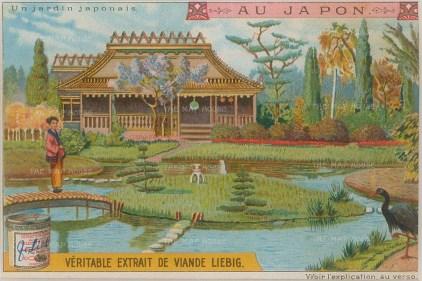 """Liebig: Japan. 1905. An original antique chromolithograph. 4"""" x 3"""". [SEASp849]"""