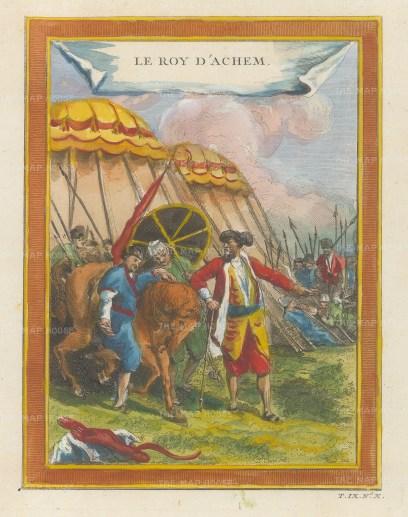 Sumatra: Sultan of Achem (Aceh).