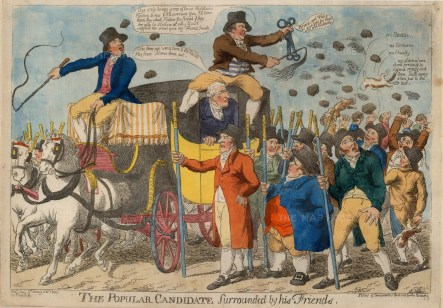 In 1802 Sir Francis Burdett a populist MP was returned as MP Middlesex, in 1804 declared void in favour of George Mainwaring and then amended in 1805 by which time Burdett had decided to leave politics.