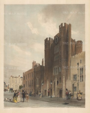St.James's Palace from Cleveland Row.