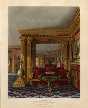 Golden Drawing Room, an alcove.