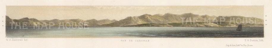 "Capt. Andrews: Pan de Cabanas. 1860. An original colour antique lithograph. 13"" x 3"". [MEXp88]"