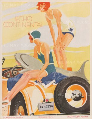 Echo Continental AG: Advertisement by Jupp Weirtz.