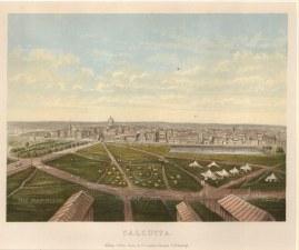 "Collins: Kolkata. c1880. An original antique chromolithograph. 10"" x 8"". [INDp1322]"