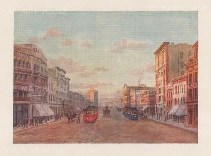 """Mower Martin: Winnipeg.1907. An original antique chromolithograph. 6"""" x 5"""". [CANp659]"""