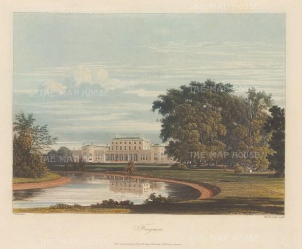 "Pyne: Frogmore, Berkshire. 1818. An original colour antique aquatint. 10"" x 8"". [ENGp211]"