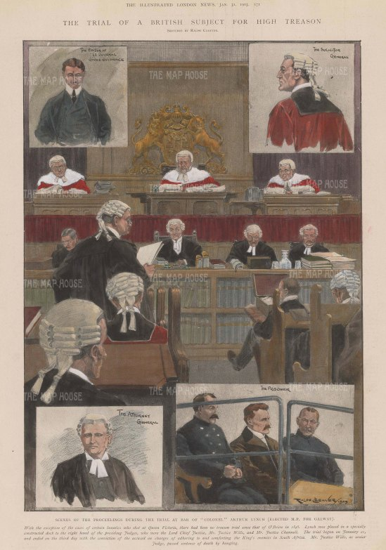 High Treason Trial of Colonel Arthur Lynch.