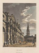 St. Martin-in-the Fields. The Mews. Site of present day National Gallery.