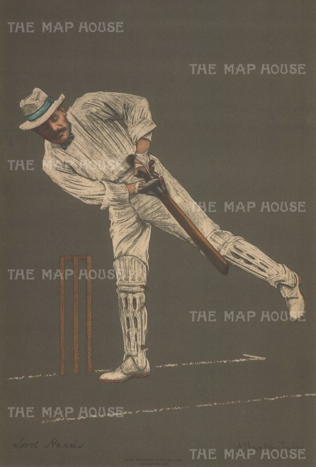 Harris had forty two seasons of first class cricket, captained for England, and was also under secretary of State to India and Governor of Bombay