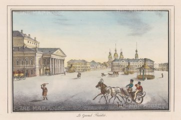 Imperial Bolshoi Kamenny Theatre.