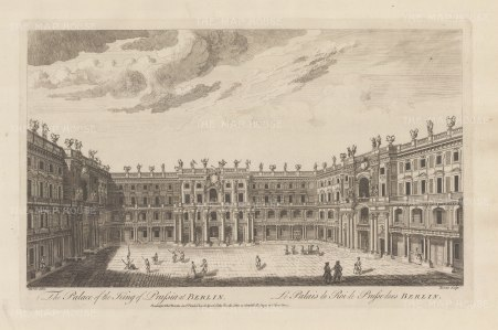 "Sayer: Berlin. 1774. An original antique copper engraving. 18"" x 12"". [GERp1240]"