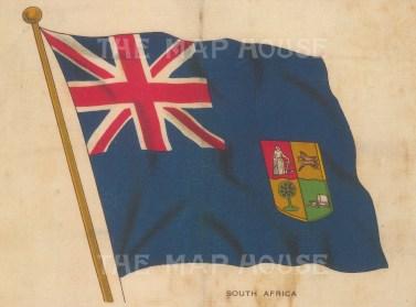 "BDV Cigarettes: South Africa. c1910. Original printed colour on silk. 6"" x 4"". [ARMp112]"