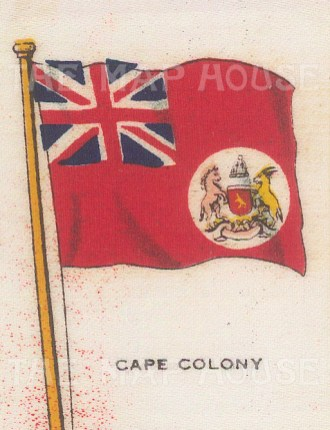 "Cigarette Cards: Cape Colony. c1910. Original printed colour on silk. 2"" x 3"". [ARMp16]"
