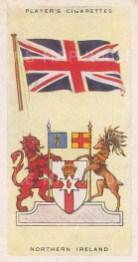 "Player's Cigarettes: Northern Ireland. c1935. An original vintage chromolithograph. 1"" x 3"". [ARMp89]"