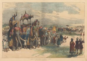 Lahore: Arrival of the Prince of Wales.