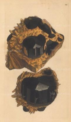 SOLD Argilla electrica. Tourmaline, from Chudleigh, Devon.