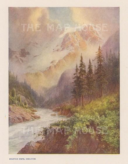 Himalayas: Mountain Mists after Maj. Molyneaux.
