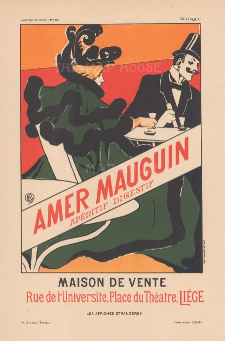 Amer Maugin: Aperitif digestif. Maison de Vent.