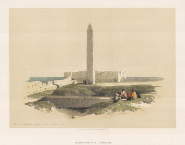 Cleopatra's Needle: The obelisk was gifted to the United States and moved to New York City at the end of the 19th century.